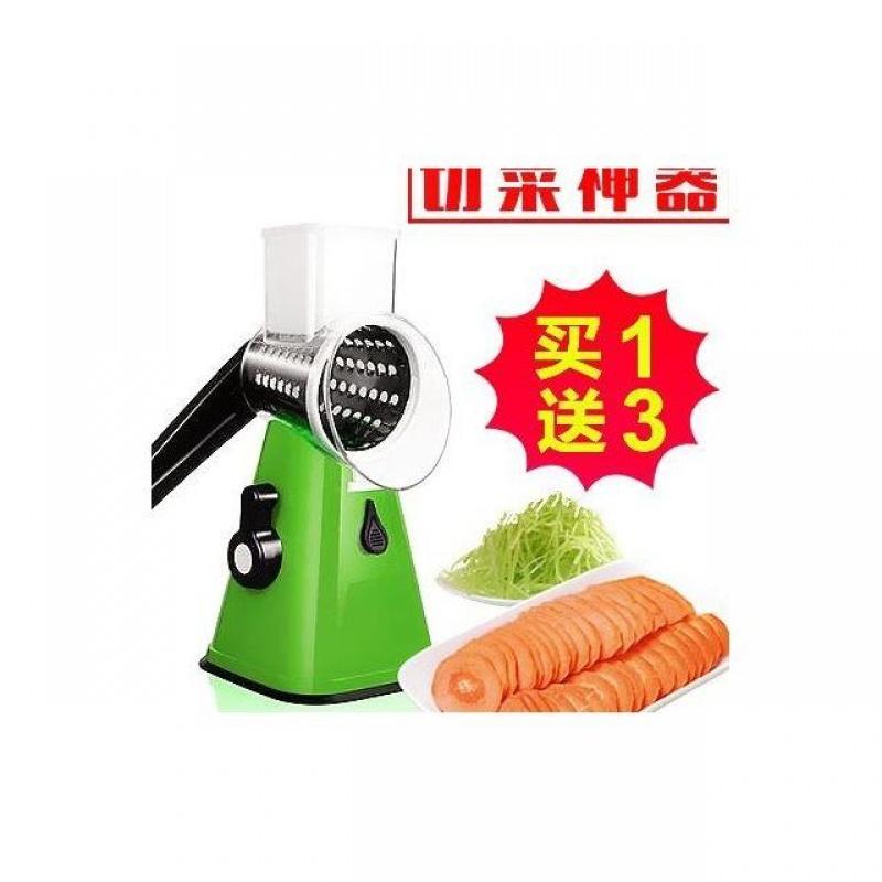 家用手摇滚筒式切片器刨片刨丝切片切丝切菜器易清洗懒人切菜