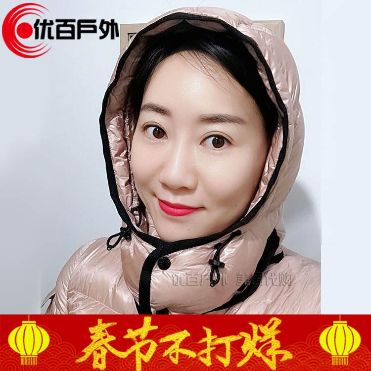 北京实体现货 蒙口Moncler BERRE女款 亮面 短款羽绒服 收腰连帽