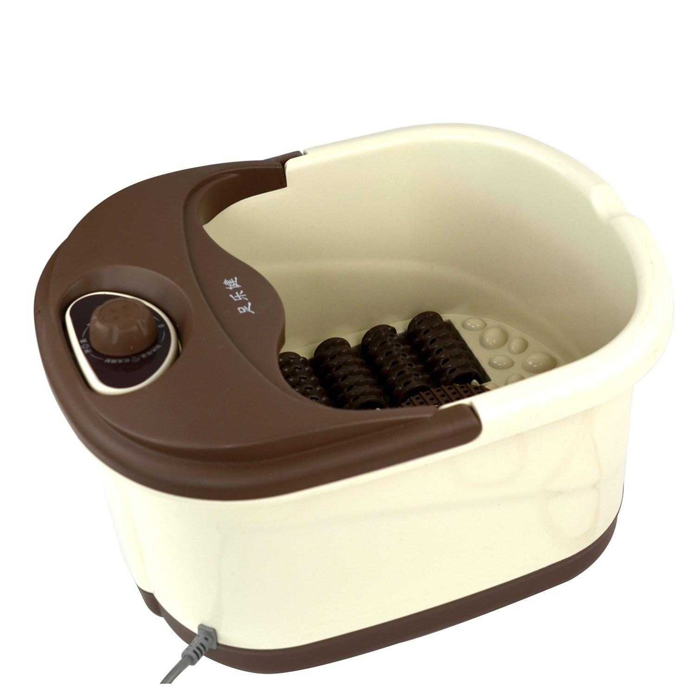 足乐健足浴盆全自动洗脚盆电动按摩加热足浴器泡脚桶