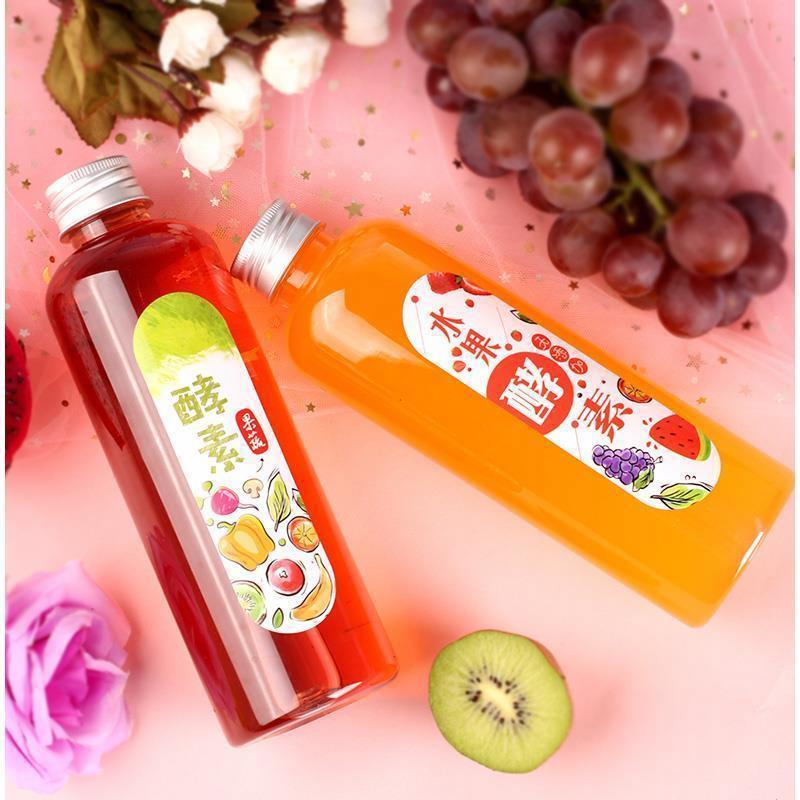 加厚pet果汁水果酵素瓶塑料装酵素的瓶子专用瓶酵素桶铝盖送标签