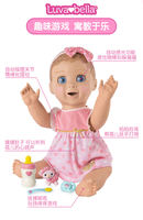 LUVABELLA sweetheart small baby doll toy intelligent talking simulation baby small times simulation doll