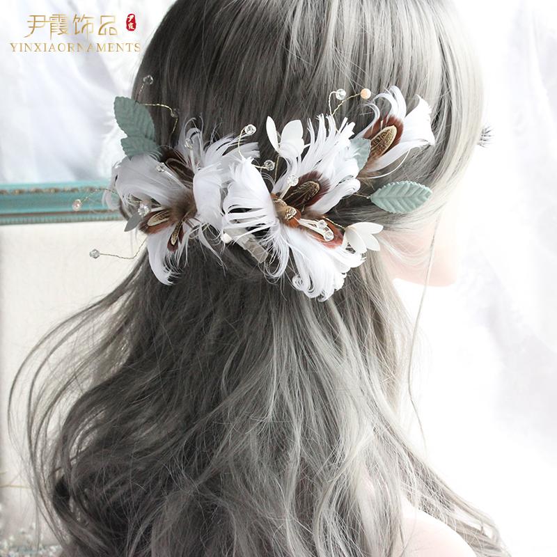 YINXIAORNAMENTS尹霞饰品FS009新娘礼服