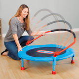 Small Tektronix children trampoline indoor household folding bounce bed Baby trampoline children trampoline toy