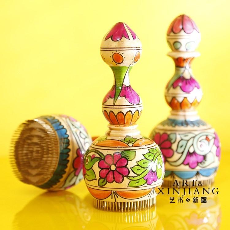 I工艺乐器五件套都塔尔30厘米热瓦普维吾尔族特色礼品纪念品新疆