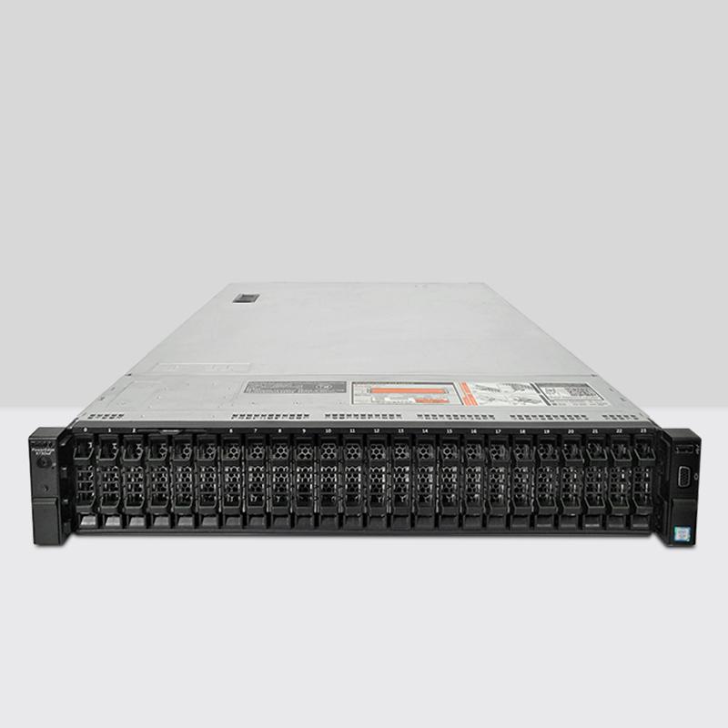 Dell戴尔R730XD服务器 2U机架式新款E5-2680V3虚拟机多开存储主机