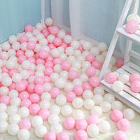 Net red wall marine ball macaron white pink wave ball ocean ball pool net red room decoration marine ball
