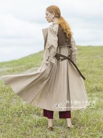 9折 粉色甜心日本直送 ameri vintage 4月下 时尚风衣 0191740030