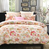 床1.8床1.5支纯棉贡缎刺绣四件套双人床80高品质高支高密处理
