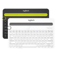 Logitech K480 Wireless Bluetooth Keyboard Android Apple iPad Mobile Phone Tablet Tablet Mini Computer Universal Home Office Portable K380 Upgrade