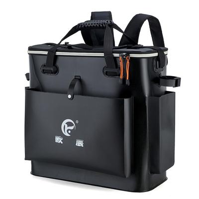 加厚1.3mm双肩鱼护背包桶渔具装鱼桶渔获钓鱼桶饵料钓鱼装备水箱