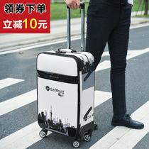 18皮箱14迷你儿童小旅游行李箱18寸可爱小型旅行箱16轻便拉杆箱女