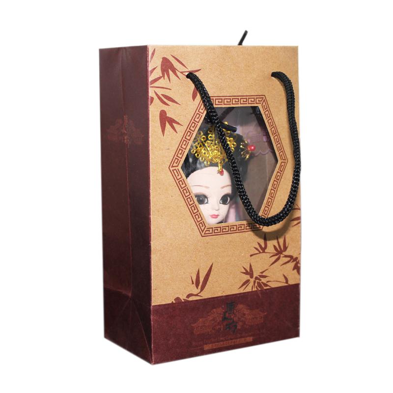 北京绢人娃娃中国风特色小礼品民族手工艺品送老外小礼品人偶摆件