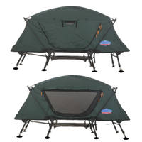 Adjustable ground tent bed multi-purpose fishing winter fishing warm tent roof camping marching folding tent