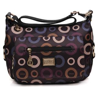 新款女式斜挎包中年女包帆布包休闲中老年女士妈妈包大容量斜跨包