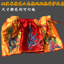 Promotion of Buddhist supplies 40 cm tide embroidered shuanglong buddha statue buddha robe Dragon Robe mantle guanyin Bodhisattva shawl idol clothes