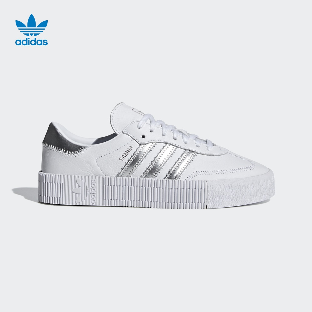 阿迪达斯官方 adidas 三叶草 SAMBAROSE W 女子经典鞋EE9017