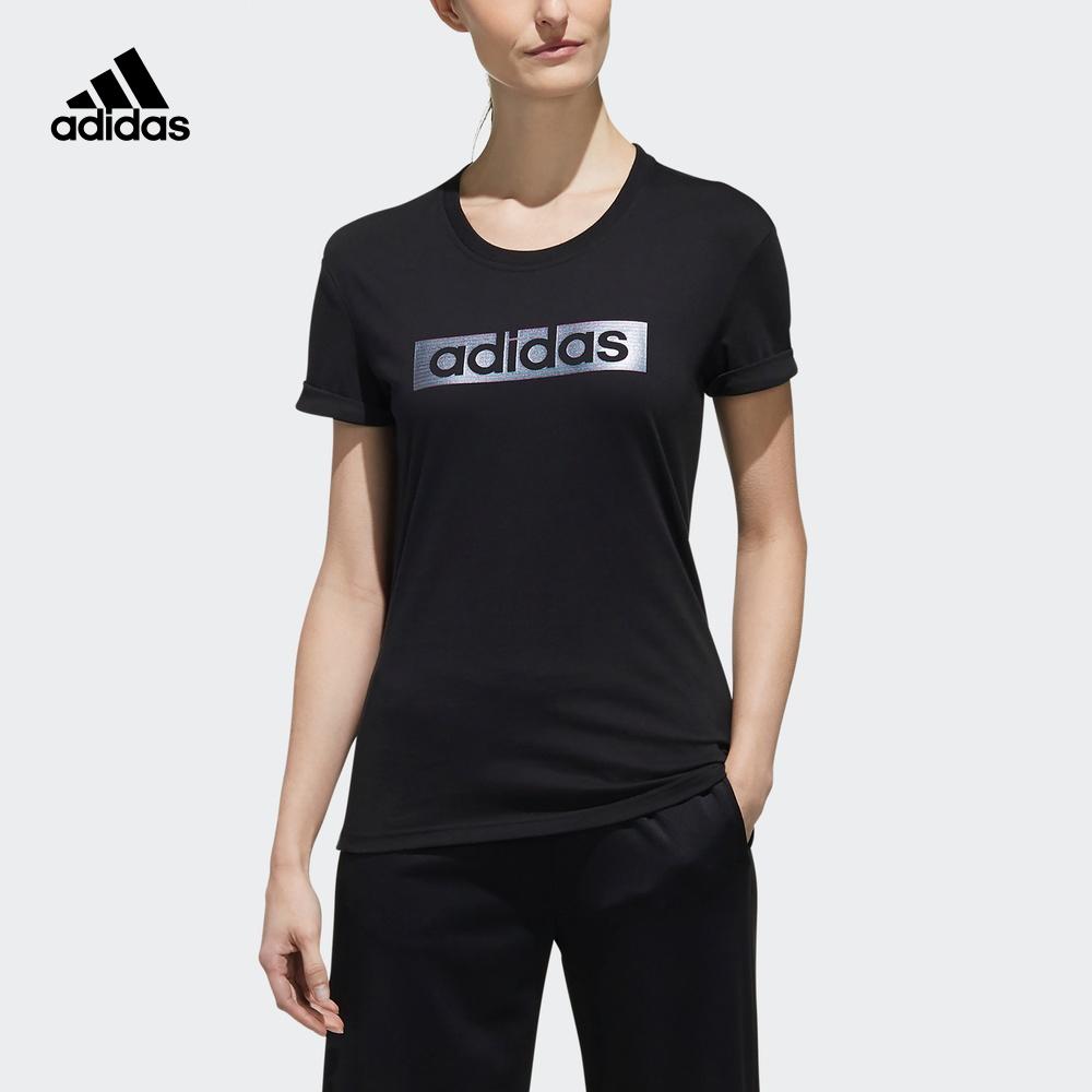阿迪达斯官网adidas 女装运动型格短袖T恤FJ1109 DY8601 DY8608