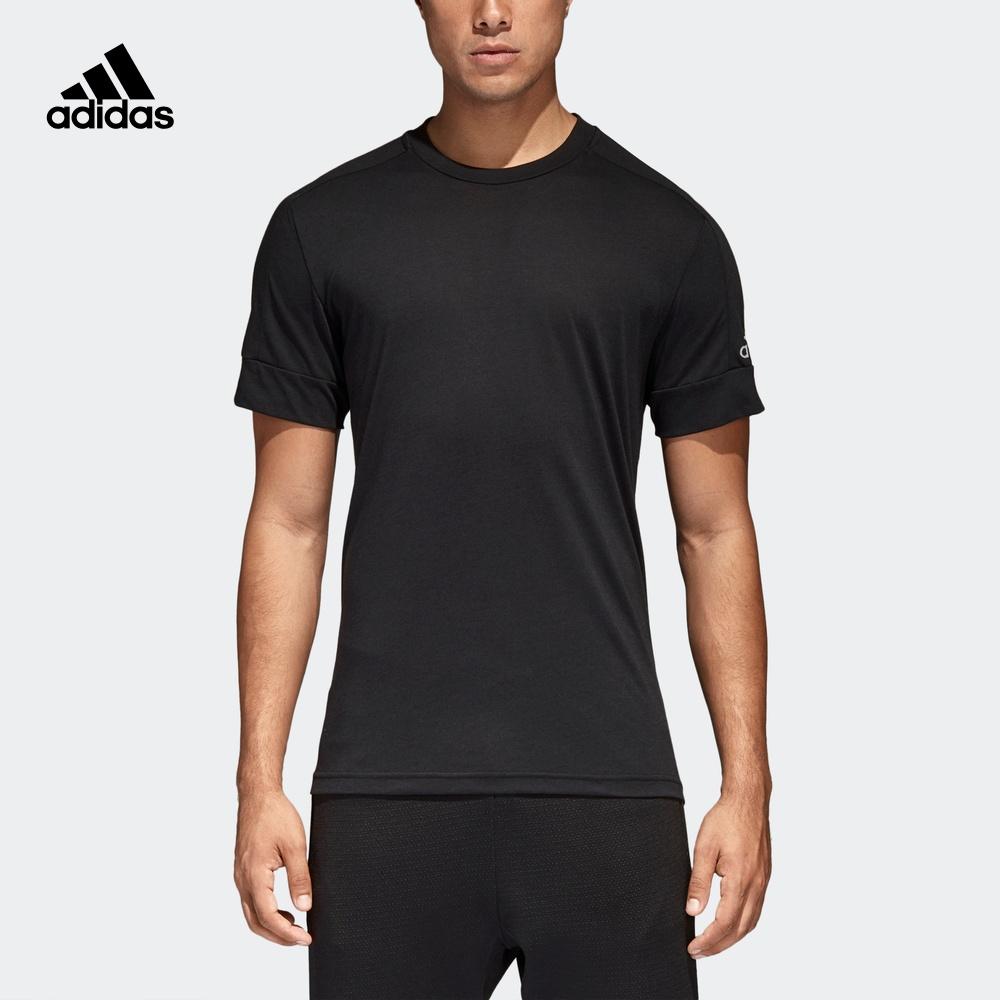 阿迪达斯官网 adidas 男装运动型短袖T恤CG209CG209CG2097