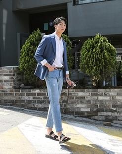 韩国正品代购Mutnam官网6C 夏季新款男士时尚西服1410496(32644)