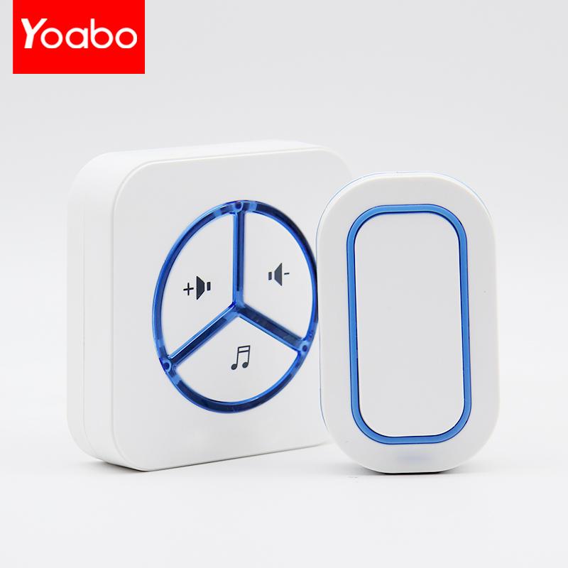 yoabo无线门铃9909