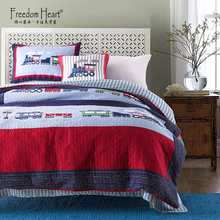 Four sets of American pure cotton quilts, sheets, air-conditioned bedcovers, three sets of bedding for children