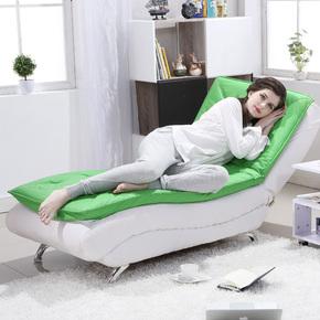 时尚创意懒人沙发躺椅家用客厅卧室休闲贵妃躺椅可拆洗折叠沙发床
