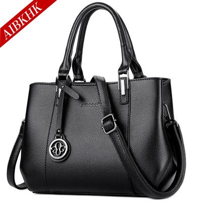 女装手袋真皮女包大款手提包大包包中年妈妈包软皮包单肩斜挎挂包