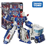 Hasbro Transformers Besieged City Leader Level Tong Tian Xiao shock wave L-class battle Cybertron deformation toy 8+