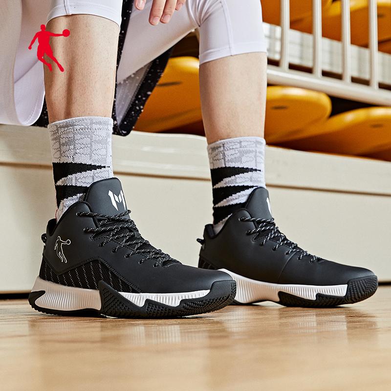 乔丹秋季新款实战篮球鞋低帮减震耐磨球鞋男鞋正品牌子运动鞋波鞋