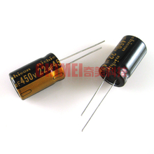 New original electrolytic capacitor 450V 22UF capacitor electronic components 3C digital accessories