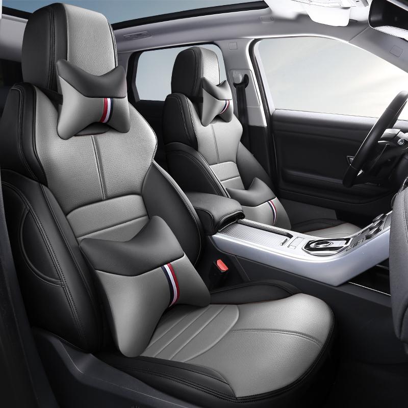 大众迈腾19款b8座套专用全包探歌座椅套cc真皮坐垫套四季汽车坐垫