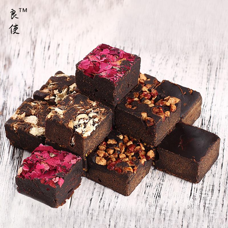 首件特价  云南古法黑糖玫瑰土红糖手工老姜茶月子黑红枣糖300g
