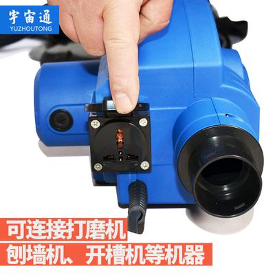 工厂吸尘除尘集尘集尘吹风机便携式软管两用机便绿化吹吸两用面粉