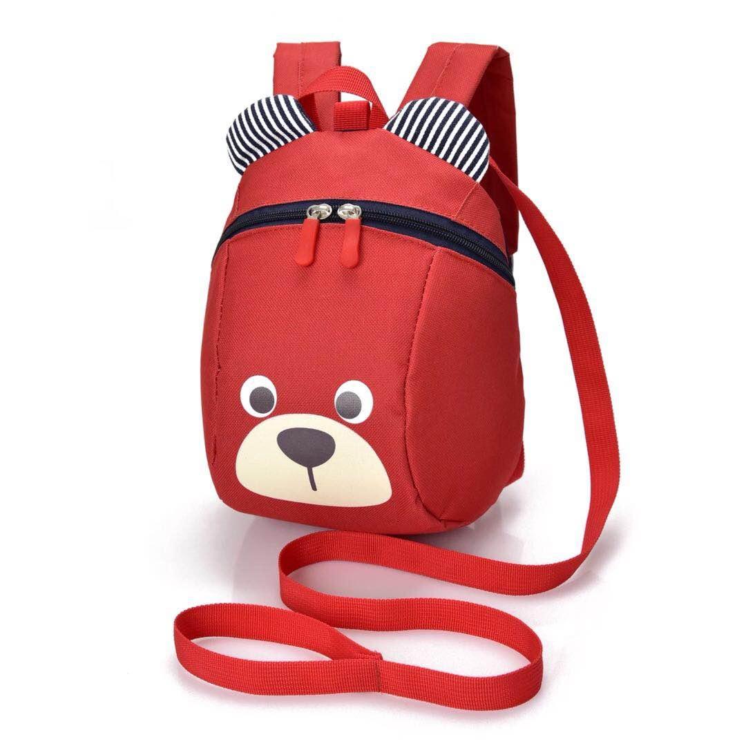 背包小熊红色