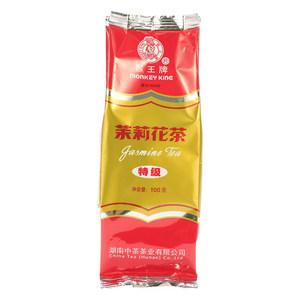 猴王牌特级茉莉花茶茉莉绿茶经典浓香型茶叶袋装100g