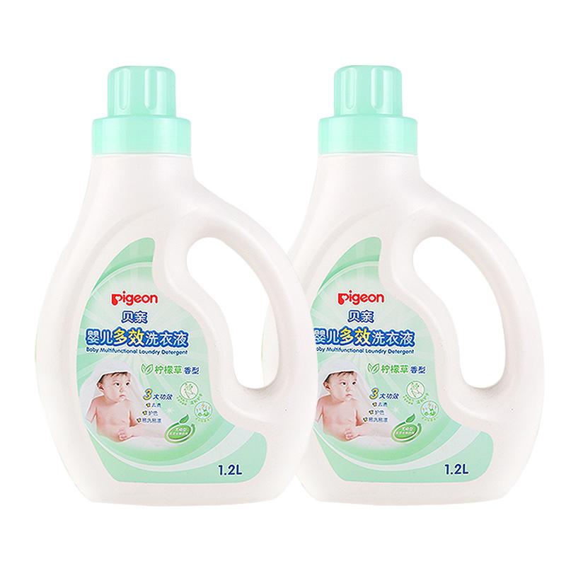 【贝亲官方旗舰店】婴儿洗衣液 植护洗衣液 宝宝洗衣液量贩装