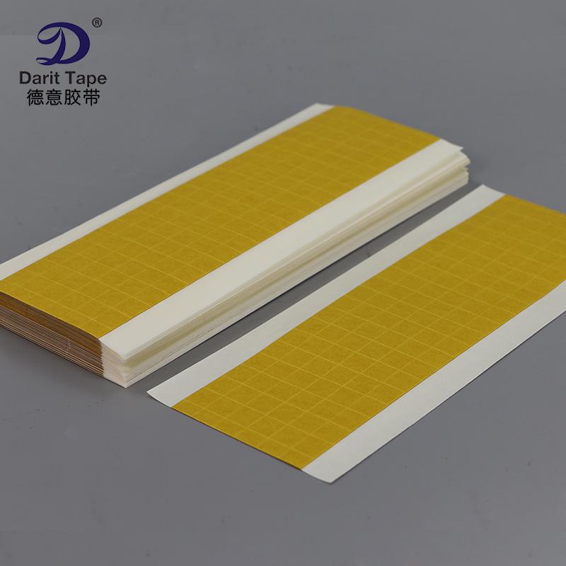 超强力透明PET双面胶带 透明正方形双面胶贴10mm*10mm 可订制规格