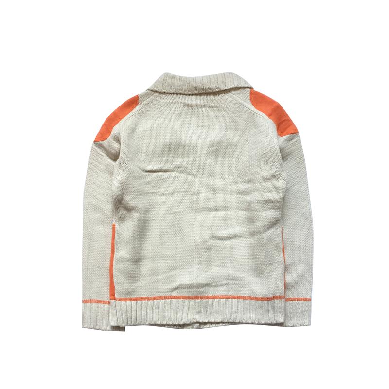 冬装新品 120至130儿童纯棉毛衣 6至8岁男女童冬款开衫拉链毛线衫