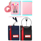 Children's wallet Korea winghouse authentic Spider-man boy short section 20% wallet student lanyard coin purse
