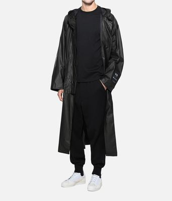 东哥Y-3 GORE-TEX LONG COAT Y3 2018款男子风衣 DY7299