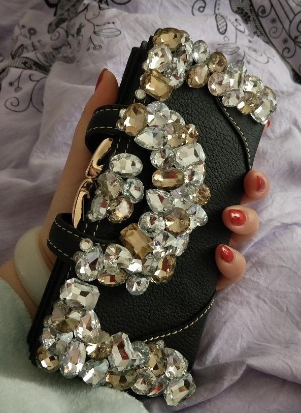 时尚镶钻钱包