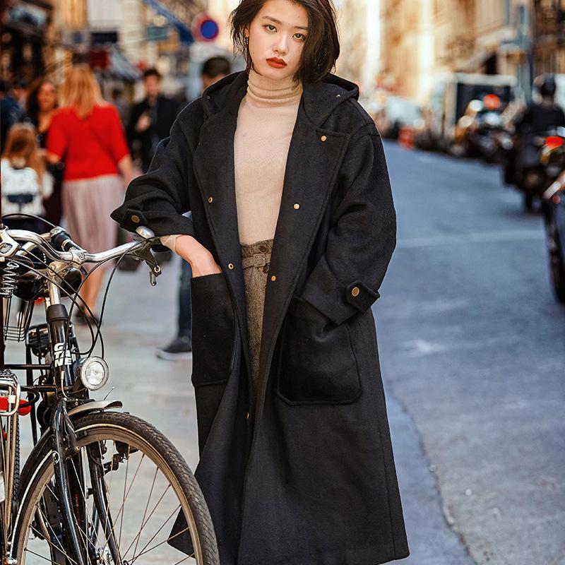 质感时尚大衣