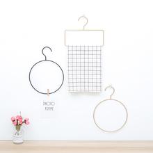 北欧风格INS简约毛巾架挂衣挂钩创意卫生间卧室墙面艺术装饰挂件
