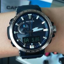 卡西欧(CASIO)手表男表登山男表PRW-60户外运动太阳能六局电波表