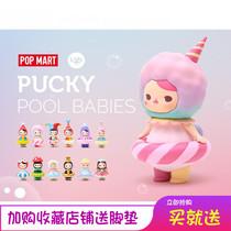 现货POPMAR TPUCKY毕奇精灵-泡泡圈系列新品(小丑 独角兽 糖果)