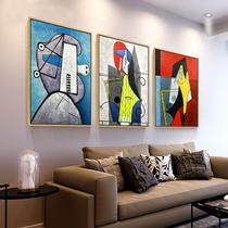 有框壁画挂画沙发背景墙画欧式客厅装饰画中式山水风景油画六派