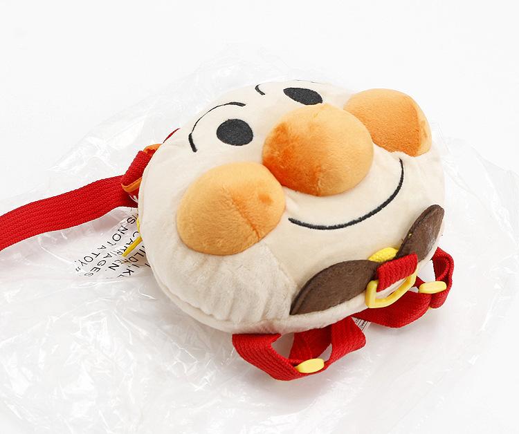 面包头超人童装书包防走失背包牵引绳小孩婴儿日本婴幼儿童双肩包