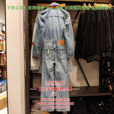 Genuine Levis Levis 84680-0000 Ms. Spring/Summer Light Denim Jumpsuit 846800000