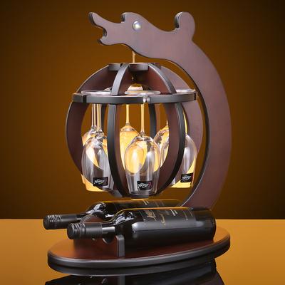 红酒架摆件创意红酒杯架欧式葡萄酒架高脚杯家居摆件客厅家用饰品
