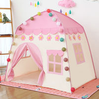 Children's tent baby play house house toy indoor princess birthday gift girl doll house small castle